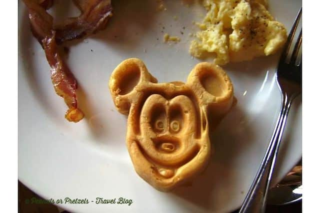 Who doesn't like a Mickey Mouse waffle?