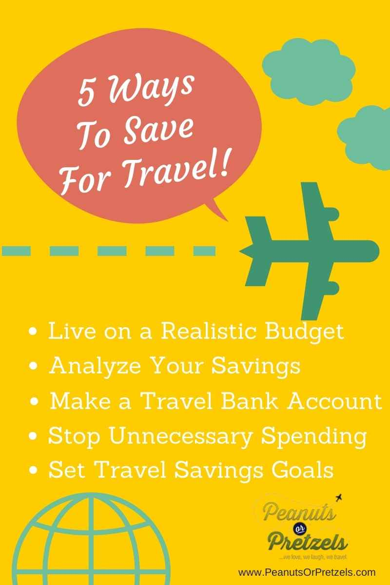 save for travel, how to travel, how to save money