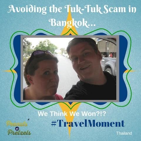 tuk tuk scam bangkok, scams in bangkok, riding a tuk tuk in bangkok, tuk-tuk