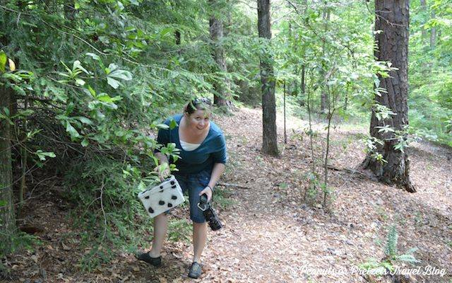Geocaching on Azalea Bowl
