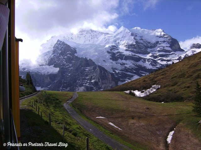 jungfraujoch, jungfrau train, things to do in switzerland, top of europe, scenic train rides, best train rides in europe, travel blog, peanuts or pretzels