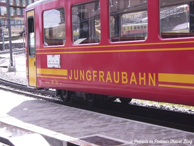 jungfraujoch, jungfrau train, scenic train rides, best train in europe, things to do in switzerland, top of europe, travel blog, peanuts or pretzels