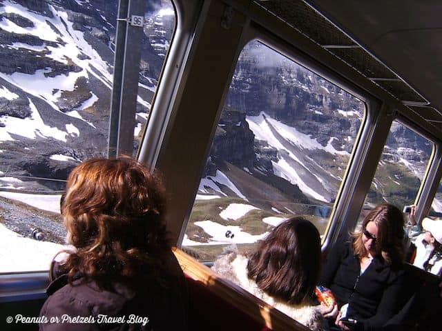 jungfrau train ride, jungfraujoch, swiss alps train ride, scenic train rides, travel blog, peanuts or pretzels
