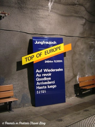 jungfrau, jungfraujoch, swiss alps, top of europe, best train ride in europe, scenic train rides, ride the train in europe, things to do in switzerland, travel blog, peanuts or pretzels