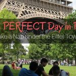 The Perfect Day in Paris, Nap Under the Eiffel Tower