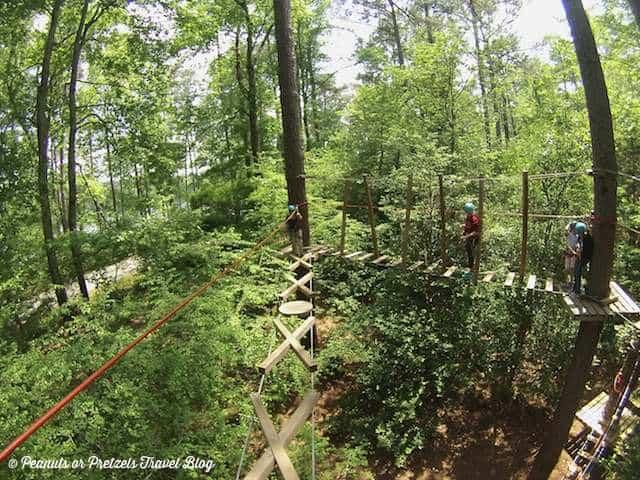 TreeTop Family Adventure – Callaway Gardens in Pine Mountain, Georgia