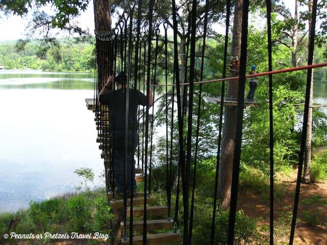 the hardest obstacle treetop adventure