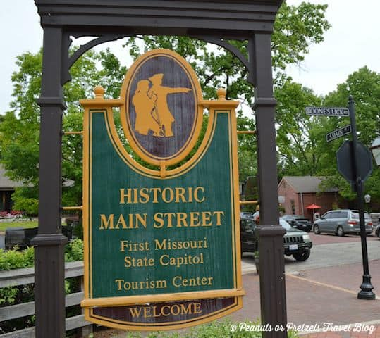 st charles missouri, lewis and clark expedition, couples travel blog, road trip