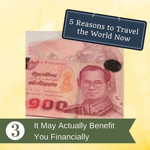 3 it may benefit you financially