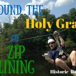 Video: We Found the Holy Grail of Zip Lining! Historic Banning Mills, Georgia