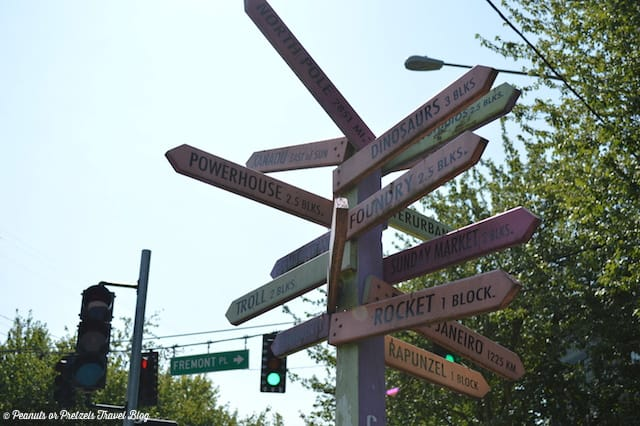 The quirky Fremont neighborhood in Seattle is a fun place to explore!