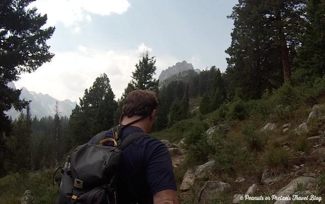 Josh hiking