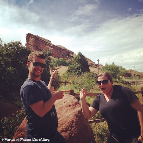 Geocaching at Red Rock in Colorado