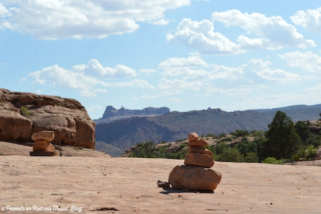 Staying on the trail in Arches National Park