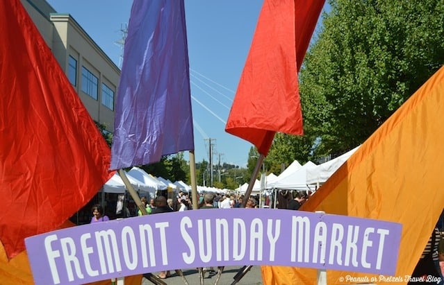 The Fremont Sunday Market in Seattle is a must!