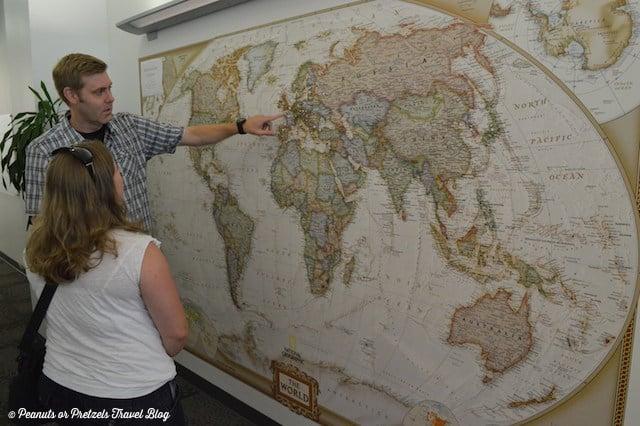 World Map at HQ