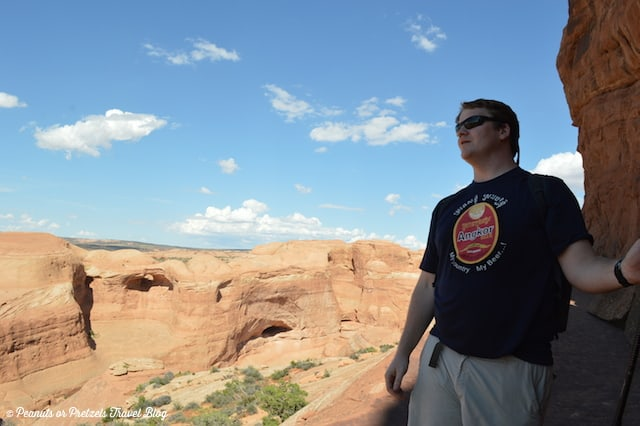 Josh in Arches National Park