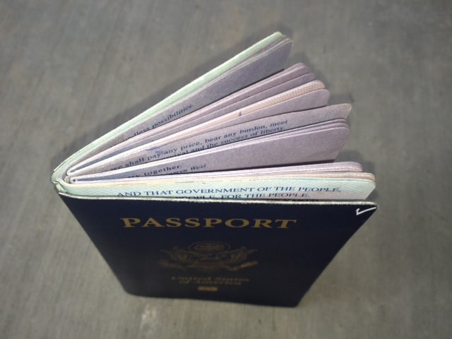 Two new packs of pages added to our passports - they are ready for the world!