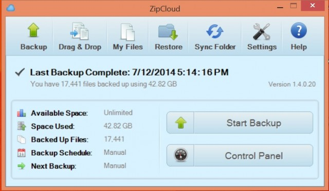 We use Zip Cloud for our online computer back ups & to store encrypted documents to share with family.