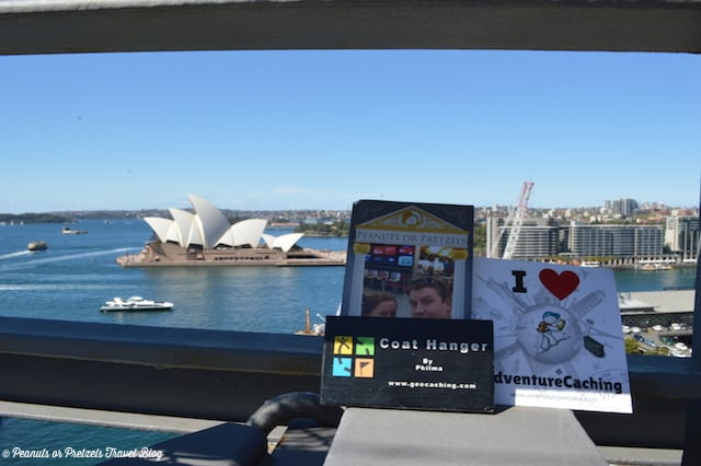 Geocaching During a Layover – Sydney, Australia