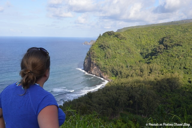 Pololu Valley Lookout - where the highway literally ends! Big Island of Hawaii.