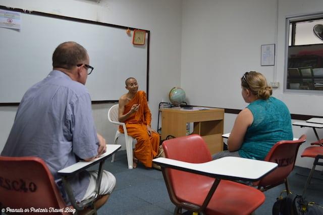 Monk sitdown