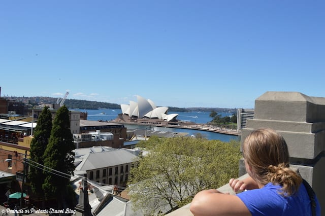 geocaching australia, view from geocache, view of sydney opera house, things to do in sydney, layover in sydney