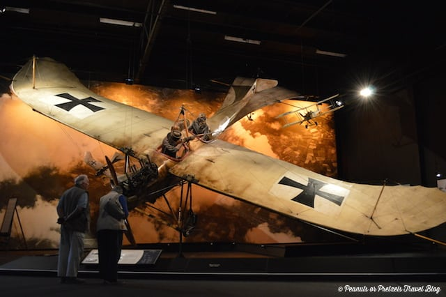 The Omaka Aviation Heritage Museum in Marlborough New Zealand is a must! Incredible scenes put you in the action!