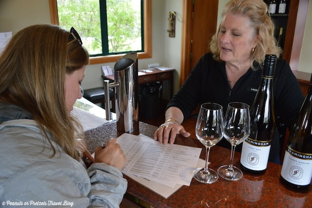 Learning about our favorites at Framingham Winery