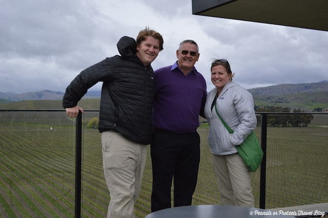 Chris, our private wine tour guide in Marlborough, New Zealand