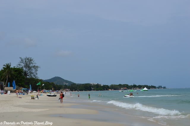 The resort beaches of Koh Samui, Thailand