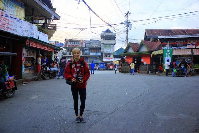 Exploring Banaue town