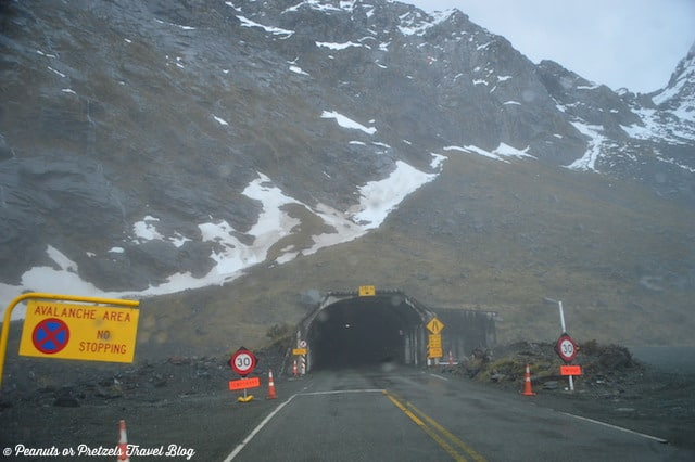 milford sound, milford sound new zealand, homer tunnel, driving to milford sound