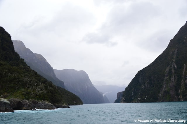 The incredible views of Milford Sound, New Zealand