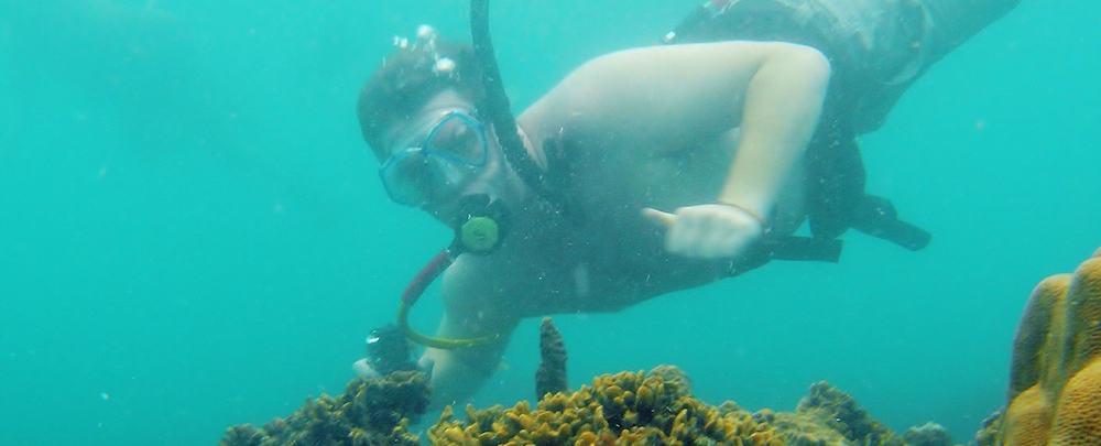 Snookah diving, snuba diving, koh samui, thailand