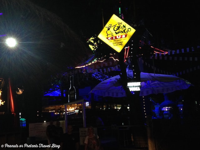 The infamous Green Mango area, and outdoor club on Koh Samui, Thailand