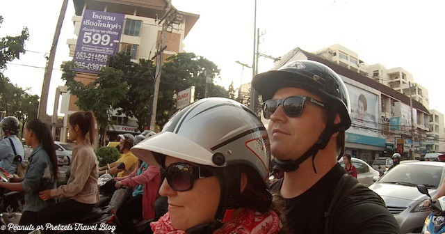 Sometimes I feel like I'm in a biker gang while driving around Chiang Mai Thailand!