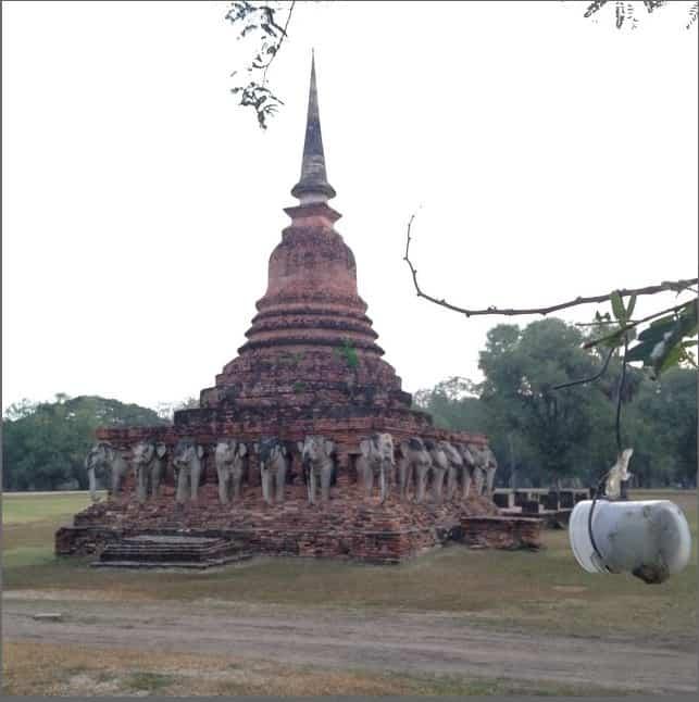 Geocaching in Sukhothai, Thailand - Peanuts or Pretzels Instagram
