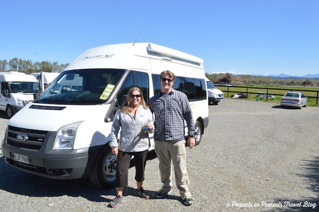 Getting ready to hit the road - New Zealand RV Rental - Peanuts or Pretzels
