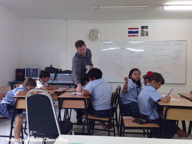 Josh Teaching TEFL - Peanuts or Pretzels