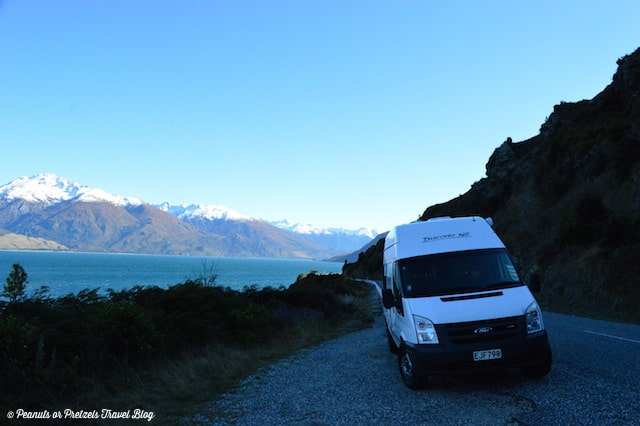 Lake View - New Zealand RV Rental - Peanuts or Pretzels