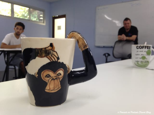 Morning Coffee - TEFL Certification Thailand - Peanuts or Pretzels