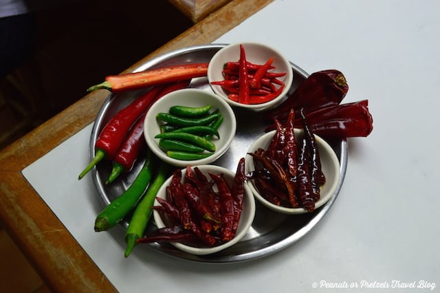 Peppers - Thai Cooking Class - Peanuts or Pretzels, learning to cook thai food, thai cooking school, koh samui thailand