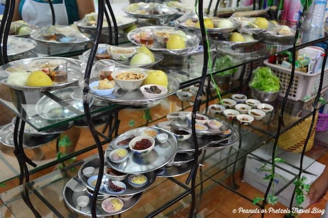 Prepping - Thai Cooking Class - Peanuts or Pretzels