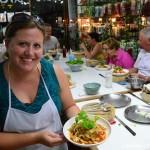 Salad 2 - Thai Cooking Class - Peanuts or Pretzels