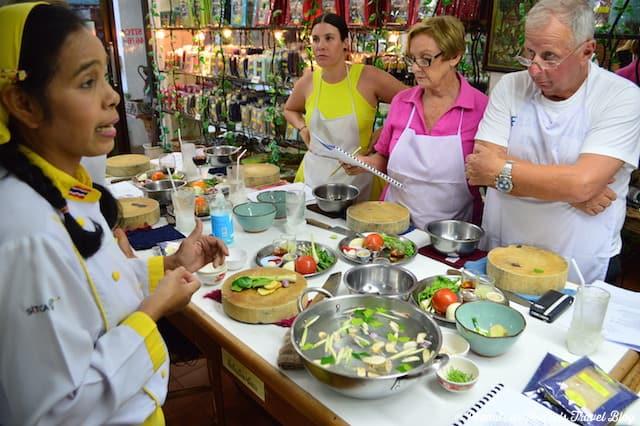 Salad - Thai Cooking Class - Peanuts or Pretzels, learn to cook thai food, cooking thai food, cooking school, koh samui thailand