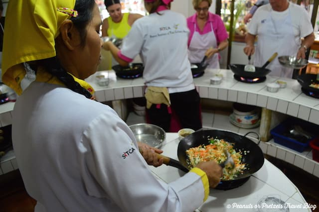 Spring Rolls - Thai Cooking Class - Peanuts or Pretzels, thai cooking school, learn to cook thai food, koh samui thailand