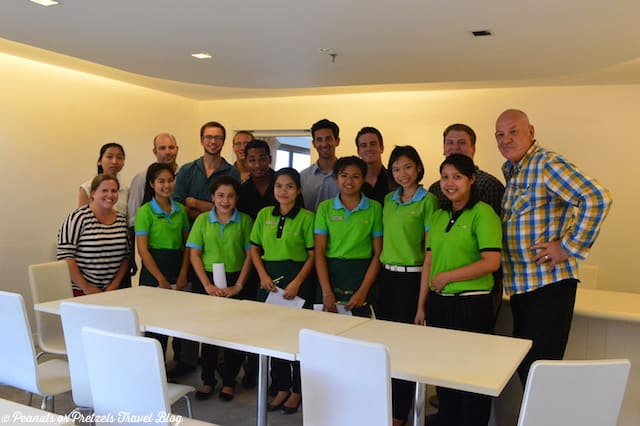 TEFL Thailand Class with Hotel Staff - Peanuts or Pretzels