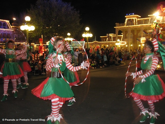 elves parade dancers