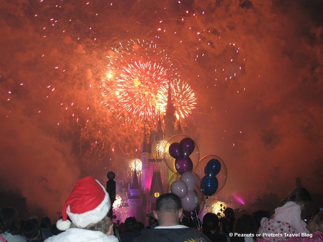 Fireworks during Mickey's Very Merry Christmas Party will blow you away and fill you with holiday cheer!
